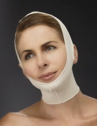 Chin-Neck Compression Garment