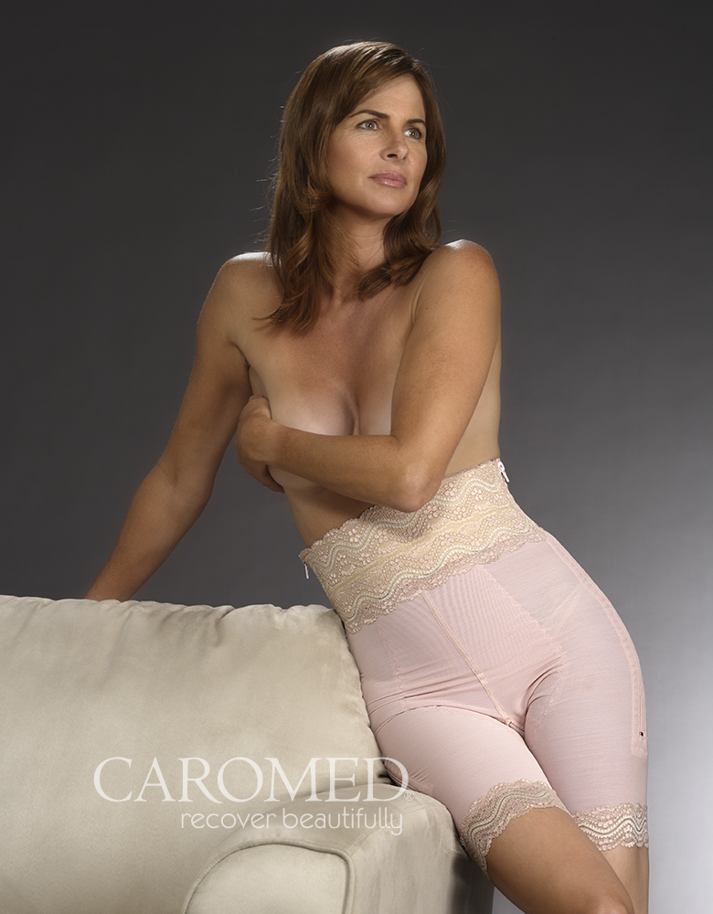 4 8011 Powerknit Girdle Caromed Compression Garments