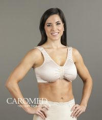 2-8126 Semi-Shaped Satin Bra with Velcro