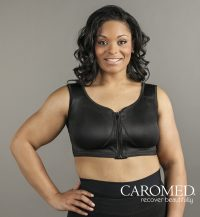 2-8224 Post-Aug Bra with Velcro Straps