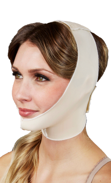 Face and Neck Compression Garments