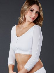 SC-475 Sculptures Sports Bra with Sleeves