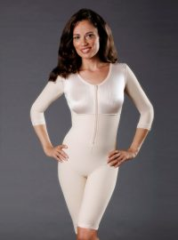 SC-260 Above the Knee Body Shaper with Sleeves